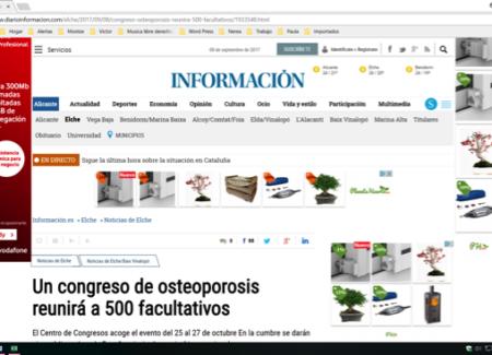 Un congreso de osteoporosis reunirá a 500 facultativos