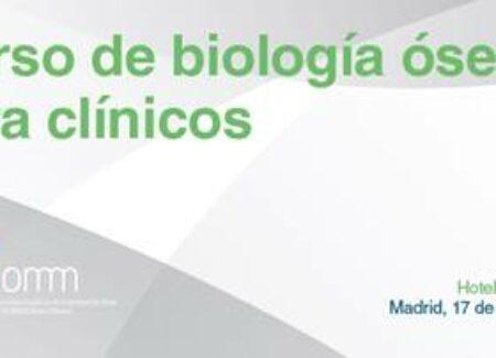 CURSO DE BIOLOGÍA ÓSEA PARA CLÍNICOS 2015