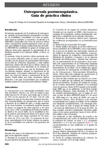 Guía Clínica SEIOMM 2003