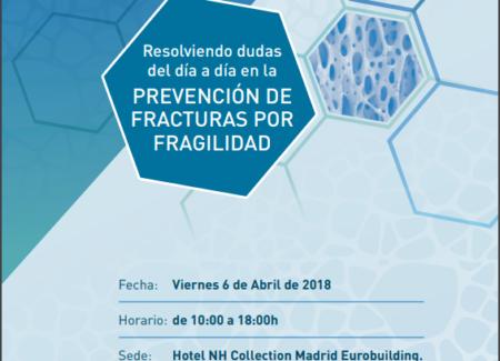 MADRID Jornada Formativa AP sobre la Prevención de Fracturas por Fragilidad
