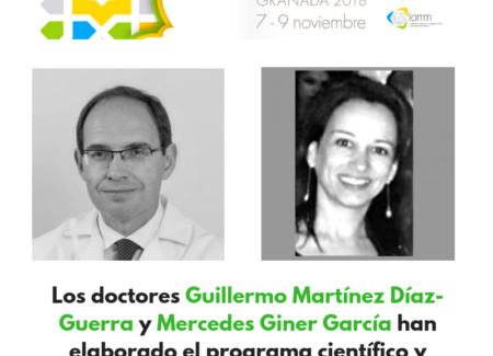 """Guillermo Martínez y Mercedes Giner, miembros de la Junta Directiva de SEIOMM: """"Buscamos que el XXIII Congreso tenga el más alto nivel científico""""."""