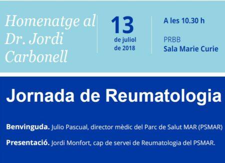 Jornada Homenaje Dr. Jordi Carbonell