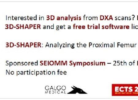 Proyecto SEIOMM-3D-SHAPER  – Symposium SEIOMM-3D-SHAPER (precongreso ECTS 2018)