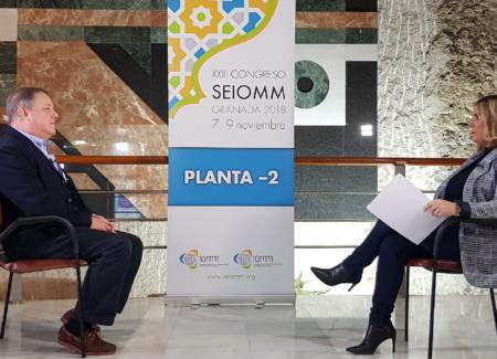 Historias del XXIII Congreso #SEIOMMGranada: Manuel Naves, presidente electo, entrevistado en Canal Sur
