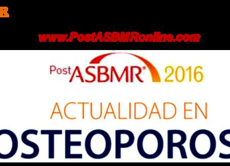 WEBINAR PostASBMR 2016 26 de octubre