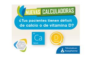 SEIOMM pone a disposición de los socios las calculadoras de ingesta de calcio y de riesgo de déficit de vitamina D. Descubra cómo funcionan y sus utilidades.