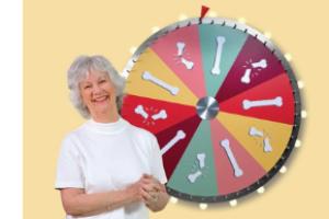 SEIOMM avala la campaña «CON LA OSTEOPOROSIS, NO TE LA JUEGUES», dirigida a las mujeres de más de 65 años y sus familiares
